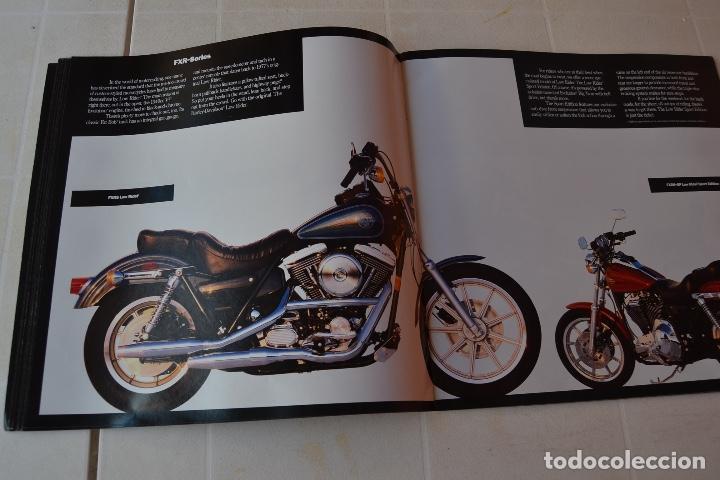 Coches y Motocicletas: 1991 CATÁLOGO HARLEY DAVIDSON TODOS LOS MODELOS RARO - Foto 7 - 287947288