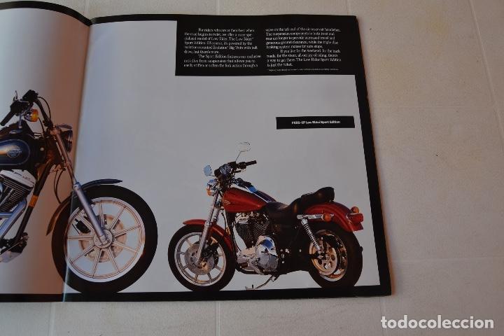 Coches y Motocicletas: 1991 CATÁLOGO HARLEY DAVIDSON TODOS LOS MODELOS RARO - Foto 8 - 287947288