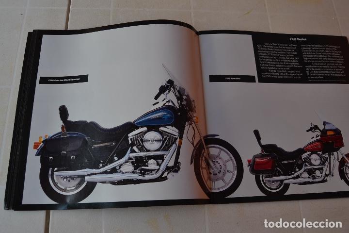 Coches y Motocicletas: 1991 CATÁLOGO HARLEY DAVIDSON TODOS LOS MODELOS RARO - Foto 9 - 287947288