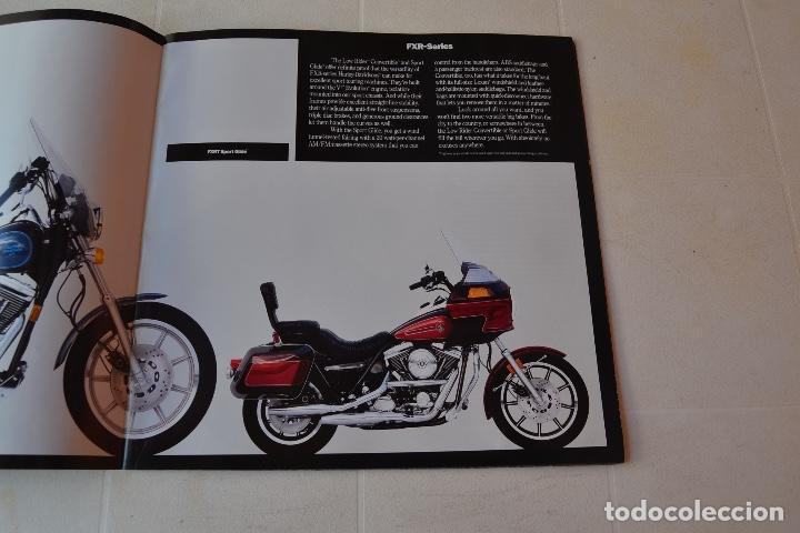 Coches y Motocicletas: 1991 CATÁLOGO HARLEY DAVIDSON TODOS LOS MODELOS RARO - Foto 10 - 287947288