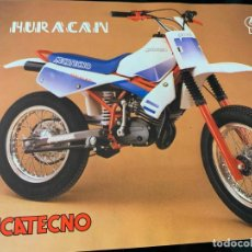Carros e motociclos: CATALOGO FOLLETO PUBLICIDAD ORIGINAL MECATECNO HURACAN Y MINI 4. Lote 201316137