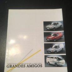 Coches y Motocicletas: (M) CATALOGO ORIGINAL AÑOS 90 OPEL CORSA, ASTRA VAN, COMBO, GME, ILUSTRADO. Lote 201919327