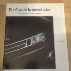 Coches y Motocicletas: (M) CATALOGO ORIGINAL AÑOS 90 SAAB 9000 CD / SAAB 9000 CS / SAAB 900, ILUSTRADO, BUEN ESTADO. Lote 201919782