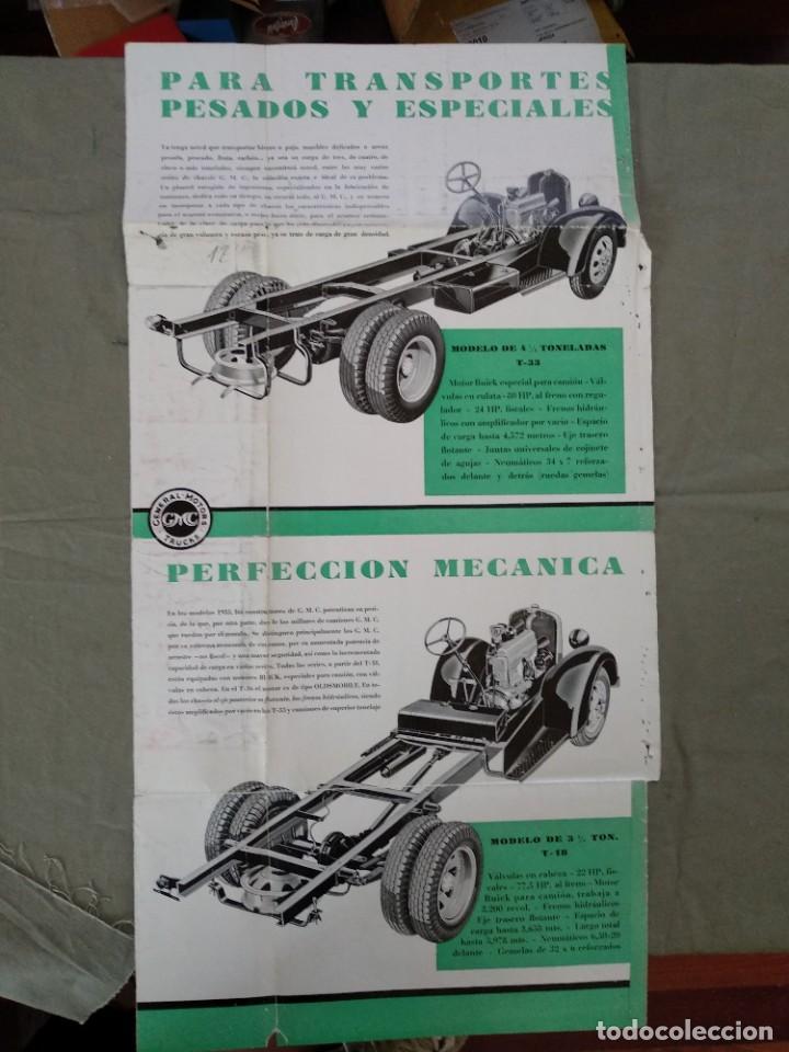 Coches y Motocicletas: folleto publicidad camion gmc general motors - Foto 5 - 202593500