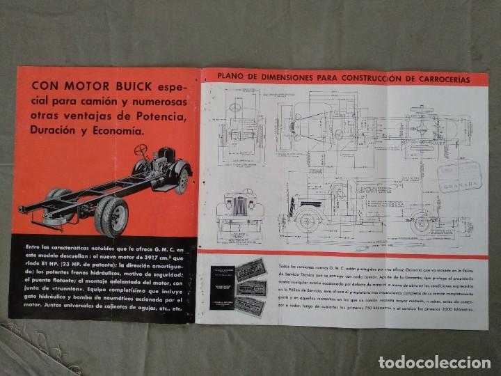 Coches y Motocicletas: folleto publicidad camion gmc general motors - Foto 6 - 202593500