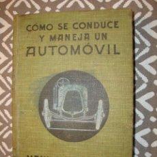 Coches y Motocicletas: MANUAL PRACTICO DEL CONDUCTOS. Lote 202671668
