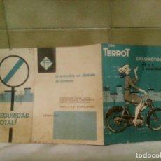 Coches y Motocicletas: FOLLETO PUBLICITARIO CICLOMOTOR TERROT. Lote 202906720