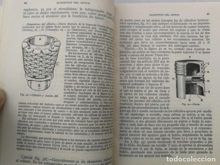 Coches y Motocicletas: ANTIGUO LIBRO DE MOTOCICLETAS - M. ARIAS PAZ - 1960 - EN BUEN ESTADO - 447 PAGINAS - 14ª EDICION - L - Foto 2 - 203072828