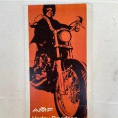 Coches y Motocicletas: 1973 CATÁLOGO HARLEY-DAVIDSON AMF. Lote 287947253