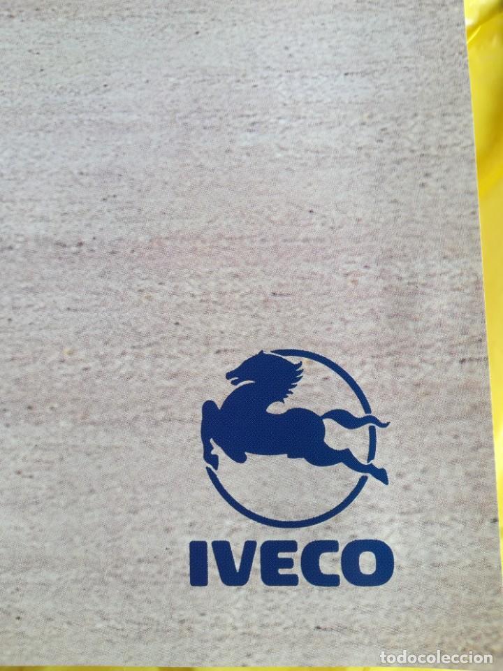 Coches y Motocicletas: Impresionante póster cartel camión Pegaso Troner 400, Trakker, etc año 1990 - Foto 2 - 203731187