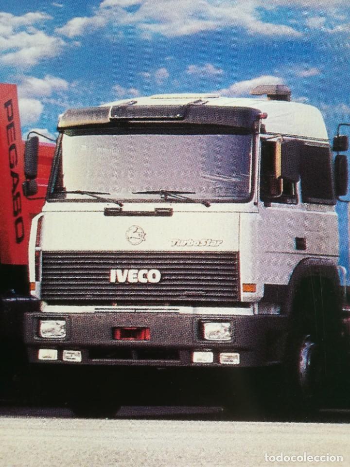 Coches y Motocicletas: Impresionante póster cartel camión Pegaso Troner 400, Trakker, etc año 1990 - Foto 4 - 203731187