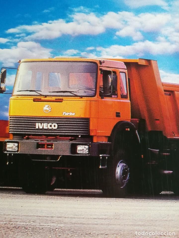 Coches y Motocicletas: Impresionante póster cartel camión Pegaso Troner 400, Trakker, etc año 1990 - Foto 6 - 203731187