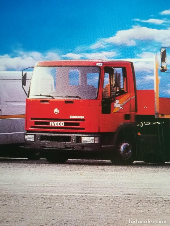 Coches y Motocicletas: Impresionante póster cartel camión Pegaso Troner 400, Trakker, etc año 1990 - Foto 7 - 203731187