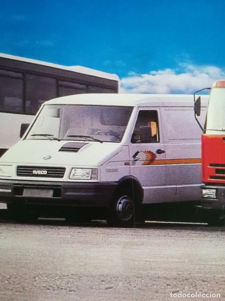 Coches y Motocicletas: Impresionante póster cartel camión Pegaso Troner 400, Trakker, etc año 1990 - Foto 8 - 203731187