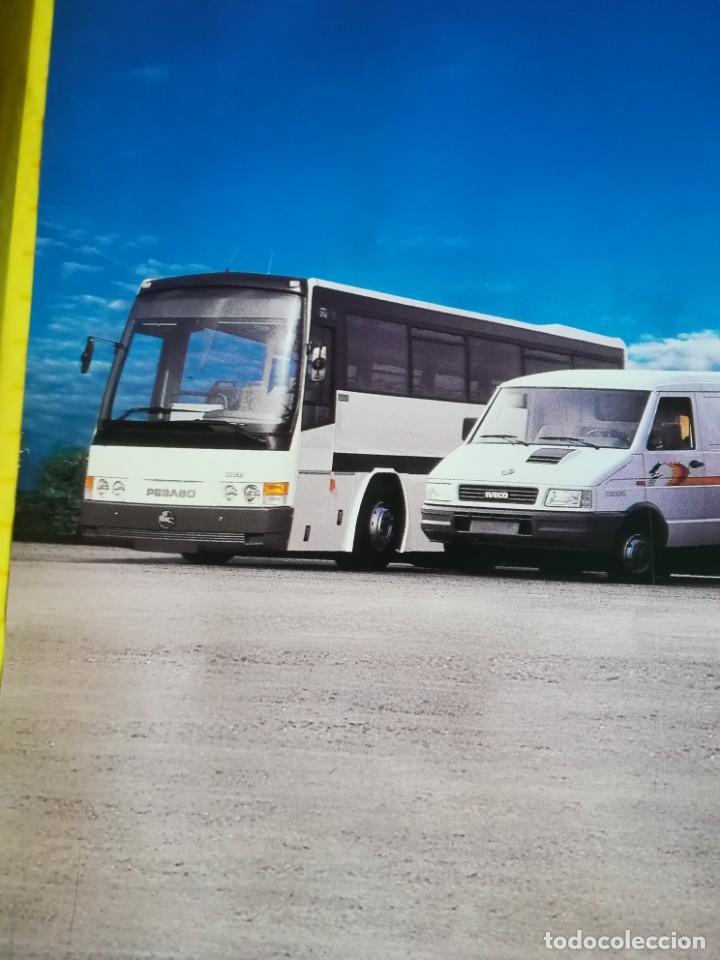 Coches y Motocicletas: Impresionante póster cartel camión Pegaso Troner 400, Trakker, etc año 1990 - Foto 13 - 203731187