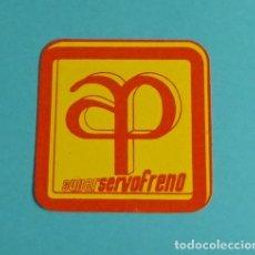 Coches y Motocicletas: PEGATINA SUPER SERVO FRENO AP. FORMATO 6 X 6 CM. Lote 204034661