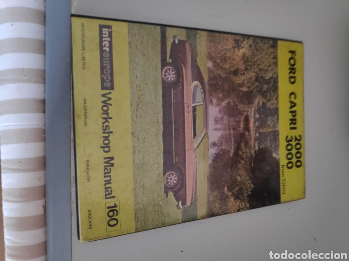 Coches y Motocicletas: Libro coche Ford Capri working manual - Foto 1 - 204124430