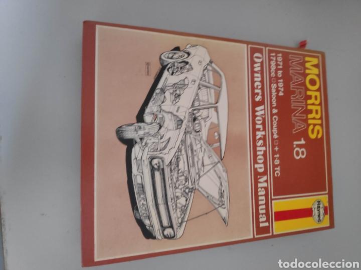 LIBRO COCHE MORRIS MARINA 1.8 (Coches y Motocicletas Antiguas y Clásicas - Catálogos, Publicidad y Libros de mecánica)