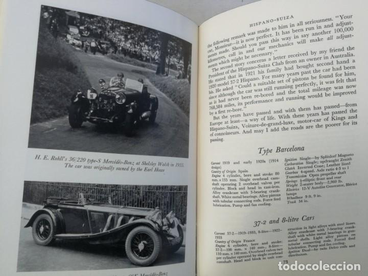 Coches y Motocicletas: CARS OF THE CONNOISSEUR - J.R. BUCKLEY - 1962 - COCHES HISTORICOS COMO ROLLS ROYCE, HISPANO SUIZA, B - Foto 6 - 204266203