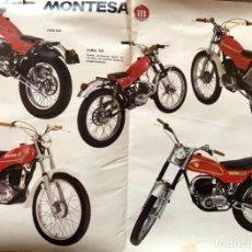 Coches y Motocicletas: CATALOGO MONTESA TRIAL. Lote 204419506