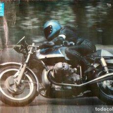 Coches y Motocicletas: BMW , POSTER ORIGINAL AÑOS 70. Lote 204475627