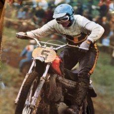 Coches y Motocicletas: POSTER MOTOCROSS, AÑOS 70. Lote 204476653