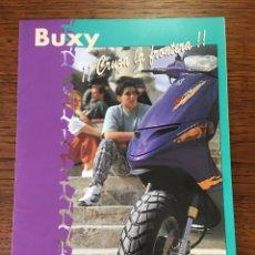 Coches y Motocicletas: FOLLETO MOTO PEUGEOT BUXY SCOOTER ( BROCHURE MOTORCYCLE) .... Lote 205139082