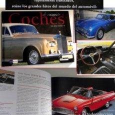Coches y Motocicletas: COCHES DE ENSUEÑO 4 LOS AÑOS 60 1 LIBRO FOTOS DESCAPOTABLES DEPORTIVOS DE LUJO HISTORIA FERRARI ETC. Lote 205292136