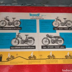 Coches y Motocicletas: MOTO CICLOMOTOR TERROT 49 CC. Lote 218908060