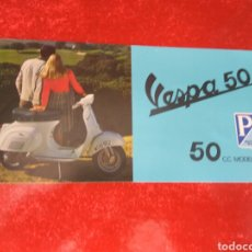 Coches y Motocicletas: MOTO VESPA 50 MODELO 1966 CATÁLOGO. Lote 205673641