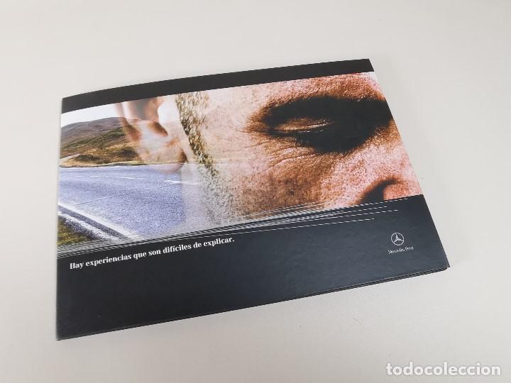 Coches y Motocicletas: MERCEDES CLASE C - CARPETA TRIPTICO PUBLICITARIO-- ORIGINAL - 2007 - ESPAÑOL - Foto 11 - 205875410