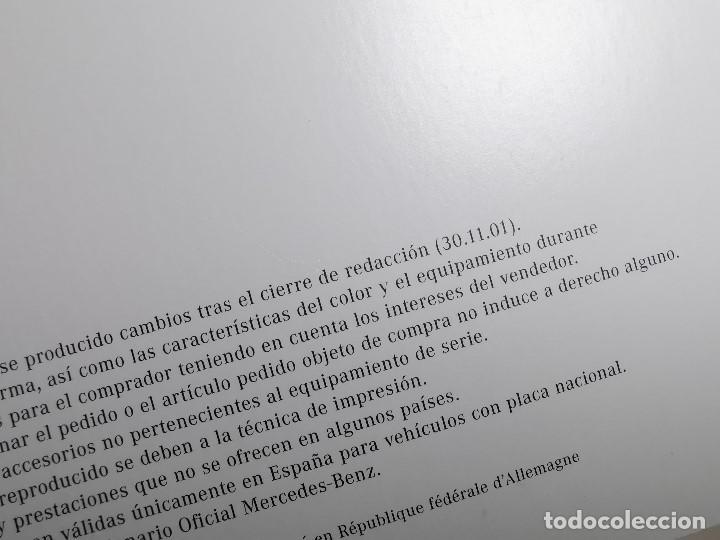 Coches y Motocicletas: MERCEDES CLASE C - CATALOGO LIBRETO PUBLICITARIO-- ORIGINAL - 2001 - ESPAÑOL - Foto 8 - 205875772