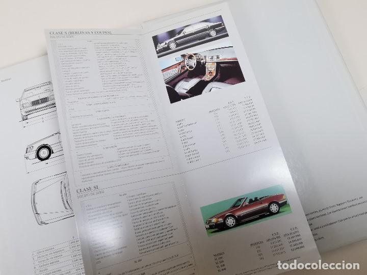 Coches y Motocicletas: MERCEDES LAS BERLINAS CLASE S - CATALOGO PUBLICITARIO-- ORIGINAL - 1994 - ESPAÑOL-TAPA DURA - Foto 8 - 205875861