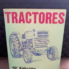 Coches y Motocicletas: LIBRO TRACTORES 10ª EDICION, ARIAS PAZ, DE 1976. Lote 206580272