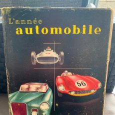Coches y Motocicletas: L ´ANNÉE AUTOMOBILE 1956. Lote 206758946