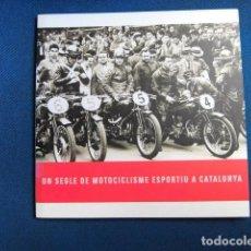 Coches y Motocicletas: LIBRO OBRA SOCIAL LA CAIXA MOTOCICLISME ESPORTIU A CATALUNYA NUEVO MOTOCICLETA MOTOR. Lote 206863618