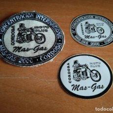 Coches y Motocicletas: 5ª CONCENTRACION MOTERA - CORDOBA - AÑO 2000 - LOTE DE PARCHE Y DOS PEGATINAS.. Lote 206869967