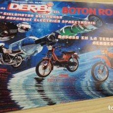 Coches y Motocicletas: PUBLICIDAD MOTO DERBI 140 FOLLETOS VARIANT.DIABLO.COPPA.OLIMPICA.YUMBO. Lote 207165100