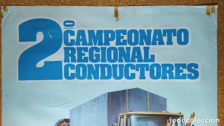 Coches y Motocicletas: CARTEL O POSTER 2º CAMPEONATO REGIONAL DE CONDUCTORES - CAMIONES DODGE - CHRYSLER ESPAÑA - Foto 3 - 207220633