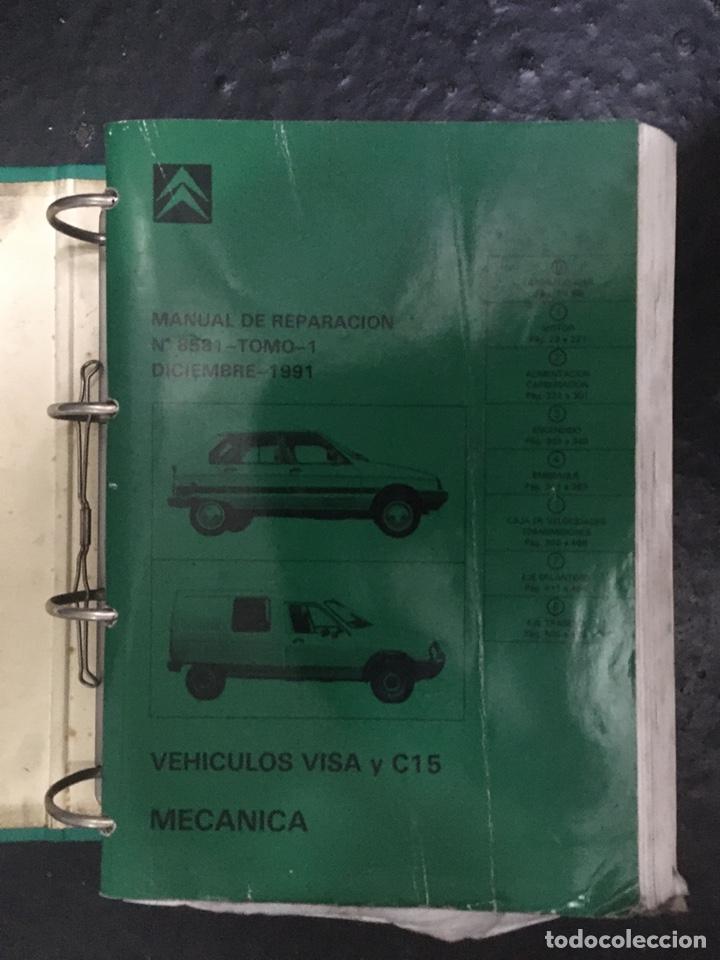 Citroen Visa C15 Manual De Taller