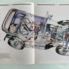 Voitures et Motocyclettes: POSTER, 41X28, AUSTIN SEVEN 1925, RADIOGRAFIA. Lote 207797518