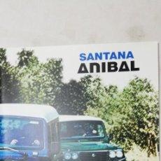 Coches y Motocicletas: CATÁLOGO FOLLETO TODOTERRENO SANTANA ANÍBAL (ZCETA). Lote 208586686