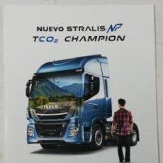 Coches y Motocicletas: CATALOGO CAMION IVECO PEGASO STRALIS NP TCO2 CHAMPION (ZCETA). Lote 208653192
