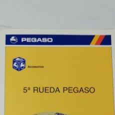 Coches y Motocicletas: CATALOGO QUINTA RUEDA CAMION PEGASO (ZCETA). Lote 208653456