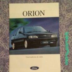 Coches y Motocicletas: CATALOGO PUBLICITARIO FORD ORION. Lote 208765313