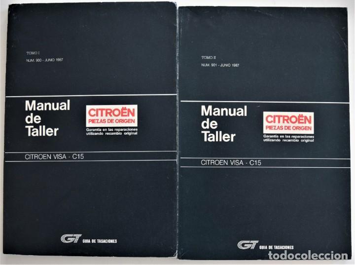 Manual De Taller Citro U00ebn Visa C15 - Tomos I Y I
