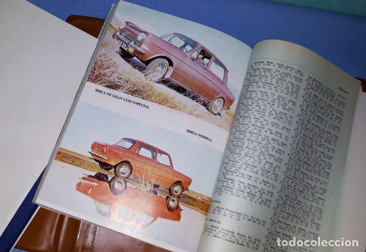 Coches y Motocicletas: VADEMECUM AUTOMOVILISTICO INTERNACIONAL ADAMS COMPLETO MAPAS FOTOS PUBLICIDAD AÑOS 60 - Foto 6 - 209123903