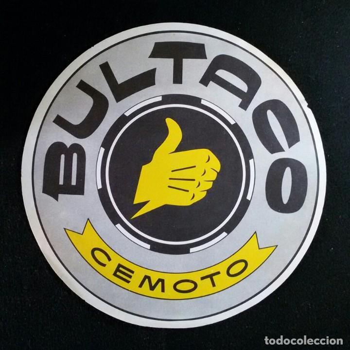LAMINA PUBLICIDAD FOLLETO ORIGINAL MOTO BULTACO CEMOTO (Coches y Motocicletas Antiguas y Clásicas - Catálogos, Publicidad y Libros de mecánica)