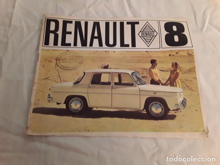 RENAULT 8 (Coches y Motocicletas Antiguas y Clásicas - Catálogos, Publicidad y Libros de mecánica)