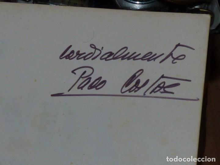 Coches y Motocicletas: BUSCADO LIBRO PACO COSTAS DEDICADO LA SEGUNDA OPORTUNIDAD AUTOGRAFO RTVE 1978 SEAT CITROEN RENAULT - Foto 4 - 210151942